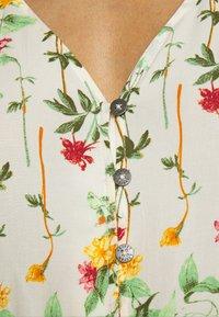 Object - OBJLORENA LONG DRESS - Maxi dress - sandshell/alba - 4