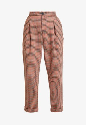 AIDE - Trousers - red