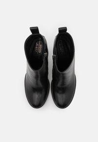 ECCO - SHAPE SCULPTED MOTION - Ankelboots med høye hæler - black - 5