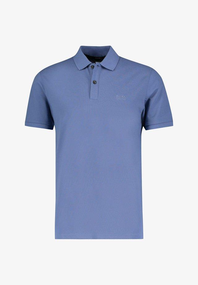 Polo shirt - stoned blue