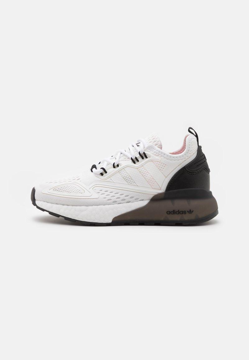 adidas Originals - ZX 2K BOOST UNISEX - Trainers - footwear white/core black