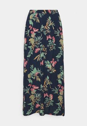 VMSIMPLY EASY SKIRT - Maxi skirt - navy blazer