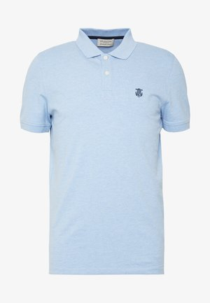 SLHARO EMBROIDERY - Polo - skyway melange