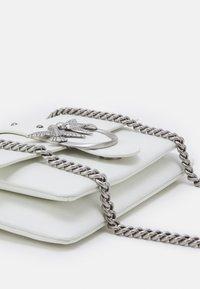 Pinko - LOVE MINI SOFT SIMPLY - Across body bag - white - 4