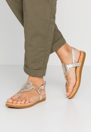 AYDEN II METALLIC - Teensandalen - gold