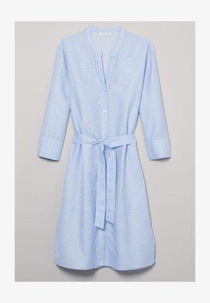 MODERN CLASSIC - Shirt dress - hellblau