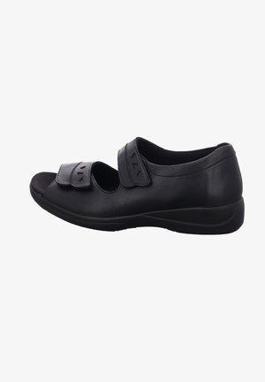 LIA - Wedge sandals - schwarz