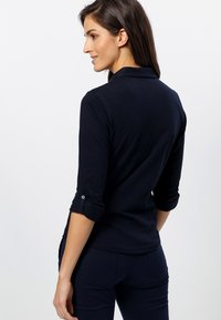 zero - Button-down blouse - dark blue - 2