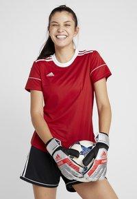 adidas Performance - PRED - Goalkeeping gloves - silver metallic/black - 1