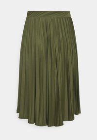 Dorothy Perkins Curve - PLEAT - A-line skirt - khaki - 1