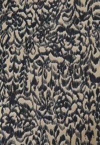 Soaked in Luxury - LOURDES WRAP DRESS - Day dress - beige - 5