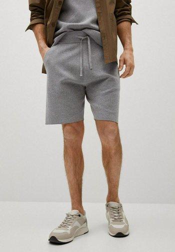 Shorts - gris chiné clair