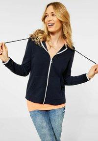 Cecil - OTTOMAN - Zip-up sweatshirt - dark blue - 0