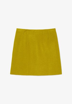 A-line skirt - fresh pea
