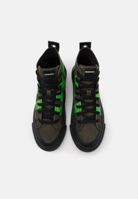 Diesel - ASTICO S-ASTICO MC - High-top trainers - forest green - 3