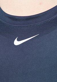 Nike Performance - ONE SLIM TANK - Top - midnight navy/white - 4