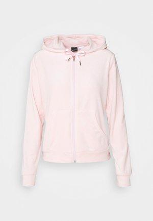 CECILIA HOODIE - Zip-up hoodie - light pink