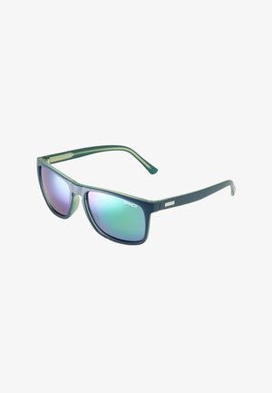 OAK POLARISED - Sunglasses - dark blue/green