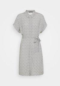 Vero Moda - VMSIMPLY EASY SHIRT DRESS - Shirt dress - navy blazer - 4
