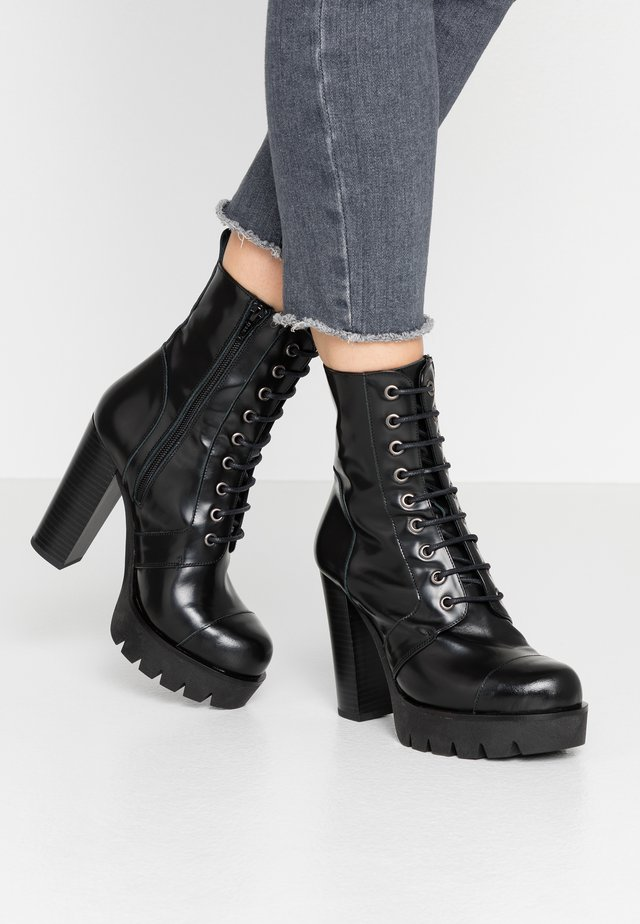 CABI-X  - High heeled ankle boots - black