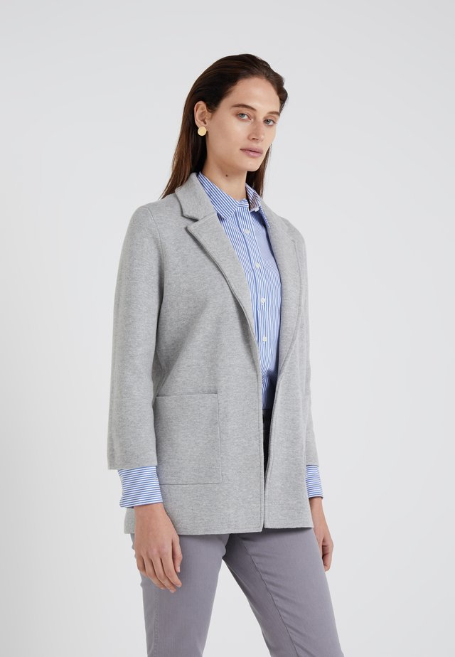 SOPHIE OPEN FRONT - Blazer - heather grey