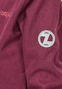 ZIGZAG - MANON MELANGE WATERPROOF - Light jacket - 4072 pink peacock - 5