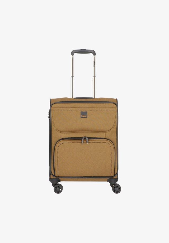 BENDINGO LIGHT 4-ROLLEN  - Wheeled suitcase - senf
