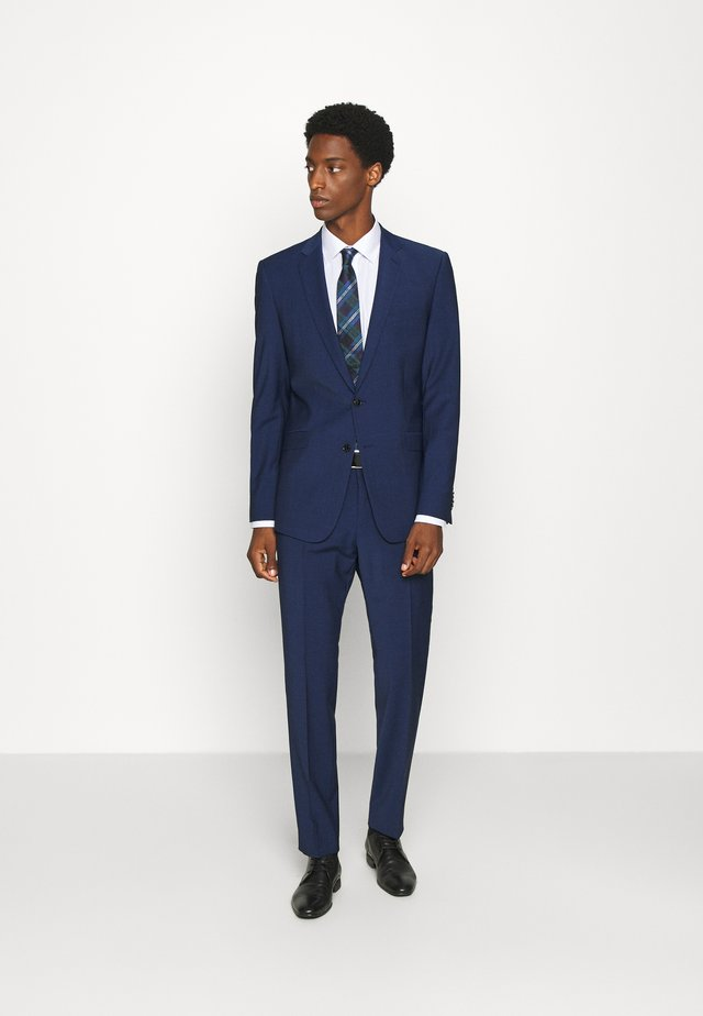 ALLEN MERCER SLIM FIT - Oblek - blue