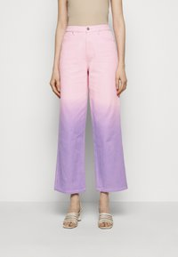 Olivia Rubin - LYNNIE - Straight leg jeans - lilac pink ombre - 0