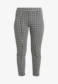 Miss Selfridge Petite - CHECK PONTE TROUSER - Trousers - multi - 5