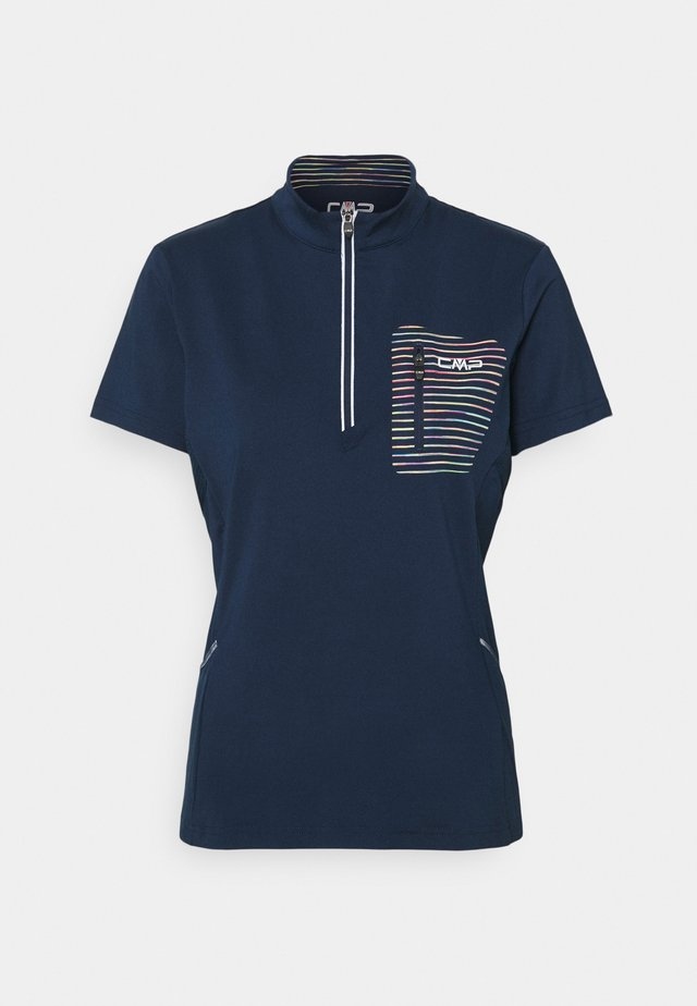 WOMAN FREE BIKE - T-shirt print - blue/solarium