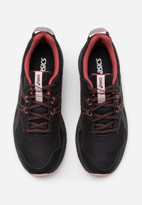 ASICS - SCOUT - Løbesko trail - black/dried rose - 5