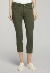 TOM TAILOR - ALEXA - Jeans Skinny Fit - grape leaf green - 0