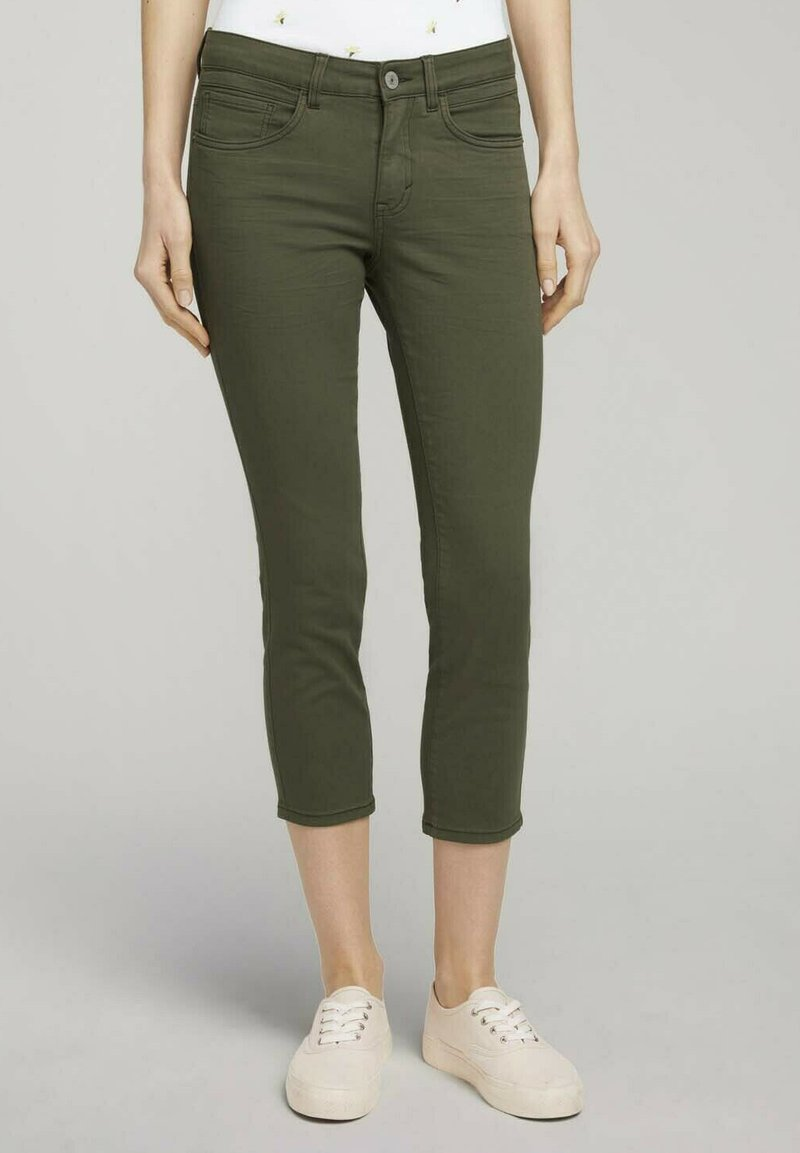 TOM TAILOR - ALEXA - Jeans Skinny Fit - grape leaf green