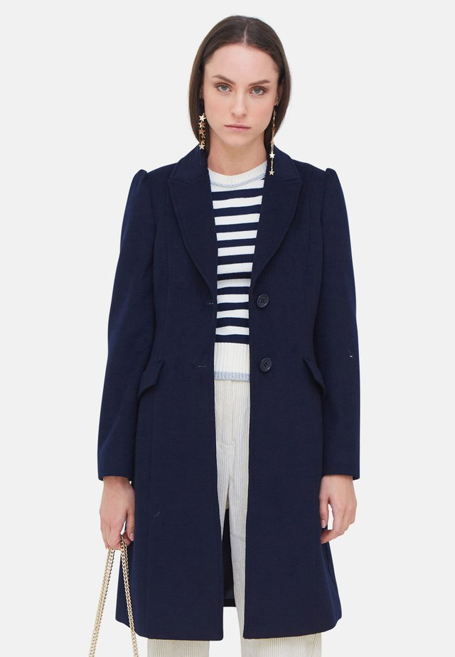 Classic coat - blu