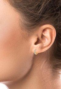 Elli - GLASS CRYSTAL - Earrings - gold - 1