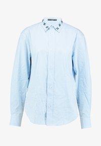 Guess - ISA - Camisa - white/light blue - 5