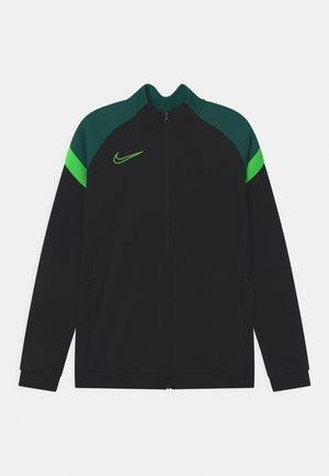 ACADEMY - Training jacket - black/green strike