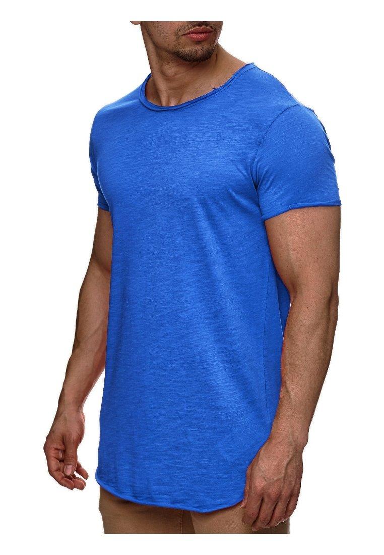 INDICODE JEANS - WILBUR - Print T-shirt - blau