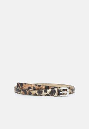 VICTORIA LEO - Waist belt - brown