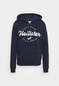 TECH CORE - Sweater met rits - navy