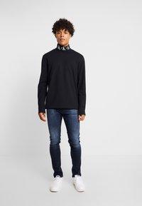Calvin Klein Jeans - SKINNY - Jeans Skinny Fit - blue black - 0