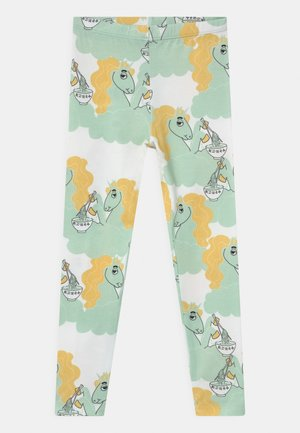 UNICORN NOODLES UNISEX - Leggings - Trousers - green