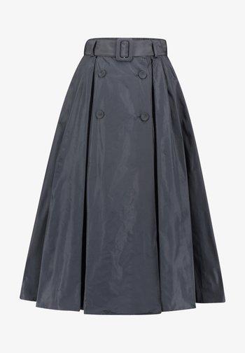 A-line skirt - dark navy
