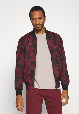 REGALREVERSE - Bomber Jacket - red