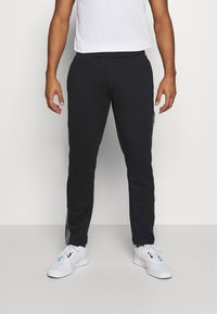 Jack & Jones Performance - JCOZTAPING TRACK SUIT - Chándal - black - 3
