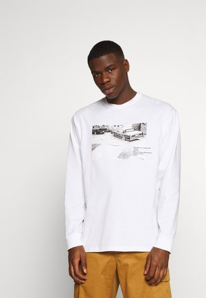 SURAJ BHAMRA CADILLAC - Langærmede T-shirts - white