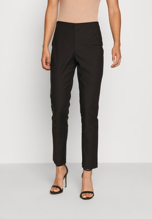 OBJULLAS PANT - Trousers - black