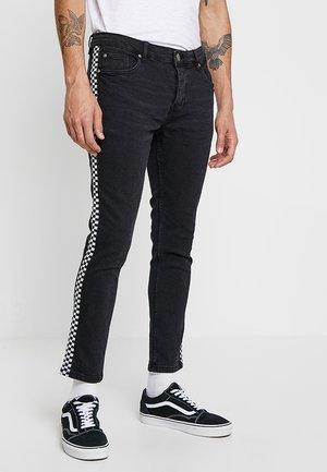 BESTWICK - Skinny džíny - charcoal