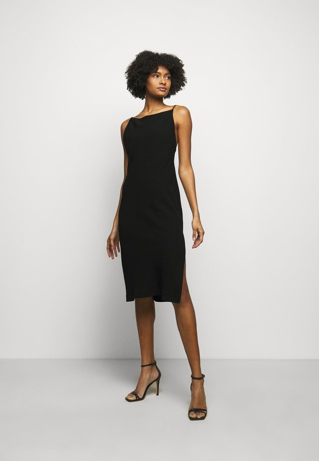 MORPHEA DRESS - Etuikjoler - black